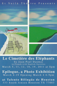 The Elephants graveyard (Le Cimetiere des elephants) by Jean-Paul Daumas
